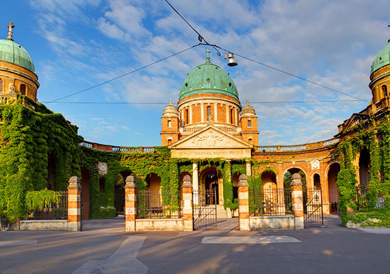 Mirogoj, one of Europe's finest graveyards, beautiful park and art gallery in one place.