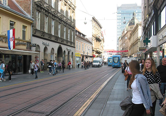 Ilica: the longest street in Zagreb; also a nice place for shopping.